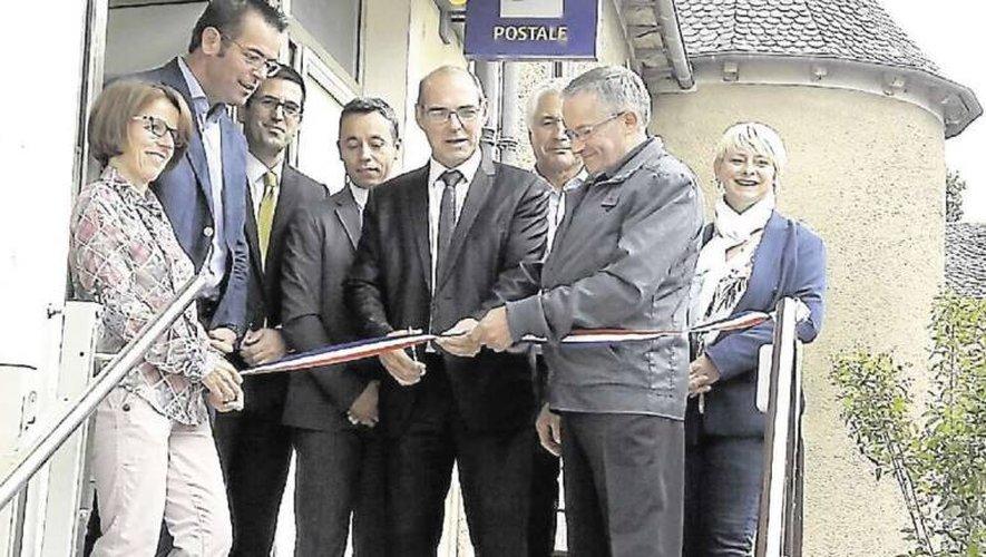 La dernière des Maison de services au public aveyronnaise a été inaugurée en septembre à Villefranche-de-Panat.
