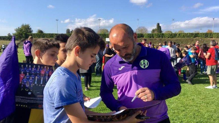 L'entraîneur du TFC est très apprécié en Aveyron.
