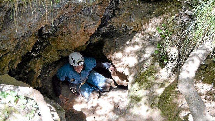 Après plus de deux heures dans la grotte de la Ficelle, reste la dernière étape, et pas des plus faciles: en sortir.  J.-L.D.