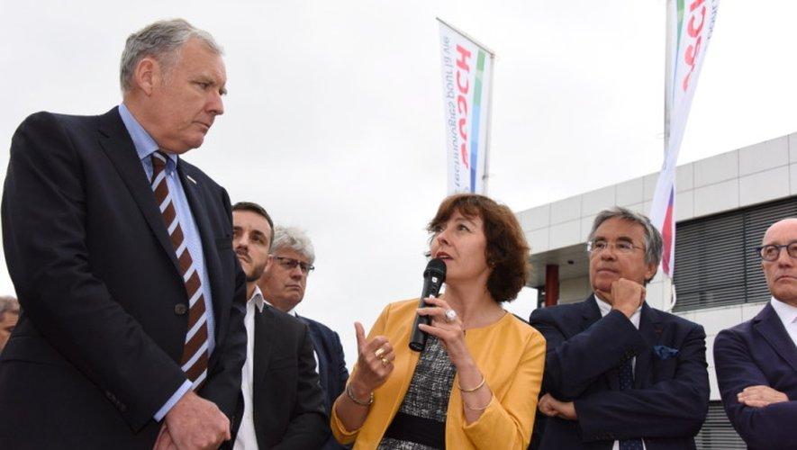 Carole Delga en visite à Bosch Rodez: «Nous allons soutenir la mutation»