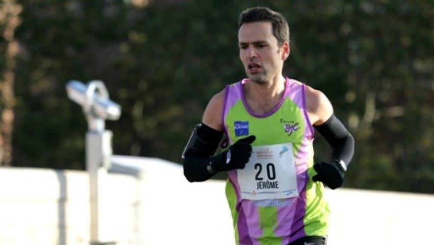 Jérôme Bellanca, vainqueur des 100km de Millau