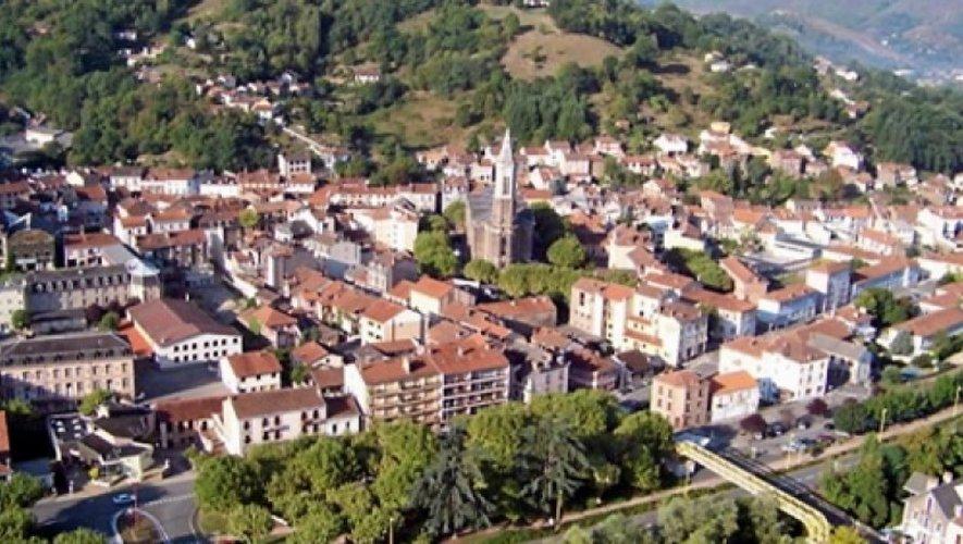 Decazeville, « une ville où il fait bon vivre », selon le constat du commissariat.