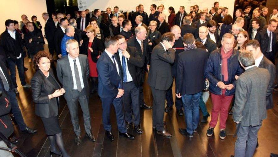 Les voeux se sont déroulés en présence de Marie-France Marchand-Baylet, présidente du Groupe Dépêche du Midi, auquel appartient votre quotidien Centre Presse.