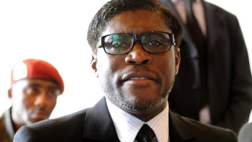 Teodorin Nguema Obiang Mangue le 24 janvier 2012 à Bata