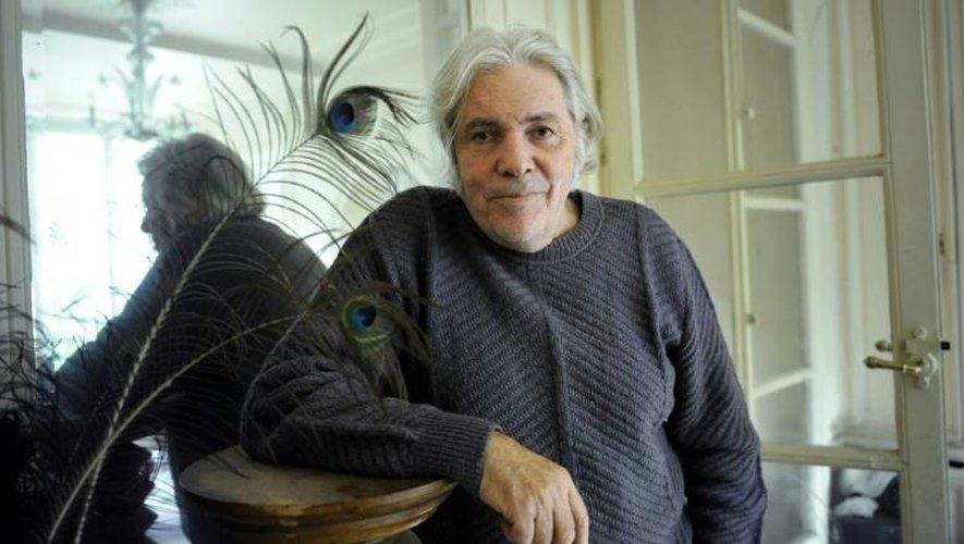 Pierre Barouh chez lui le 14 octobre 2008 à Paris
