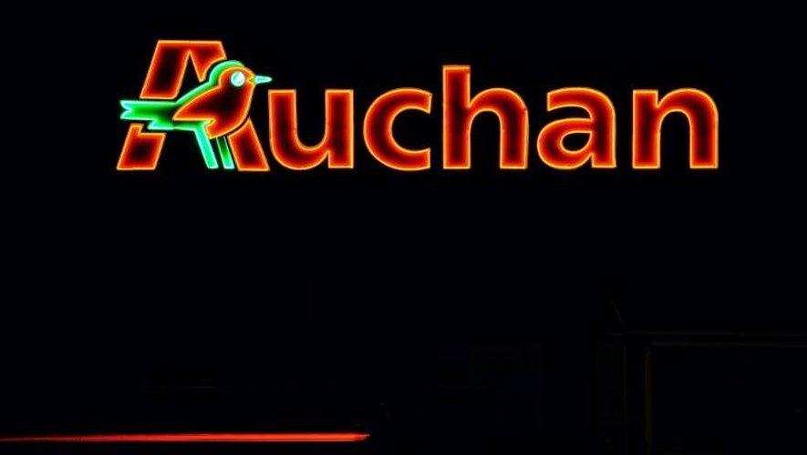 L'enseigne de Auchan dont Auchan City est une filiale