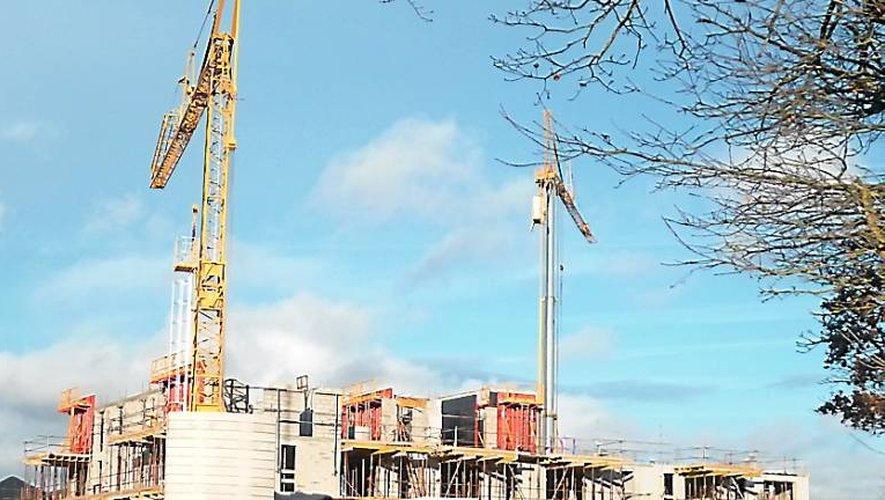 Les travaux de la future résidence séniors vont bon train.