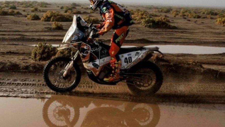 Le Saint-Affricain Loïc Minaudier boucle son deuxième Dakar