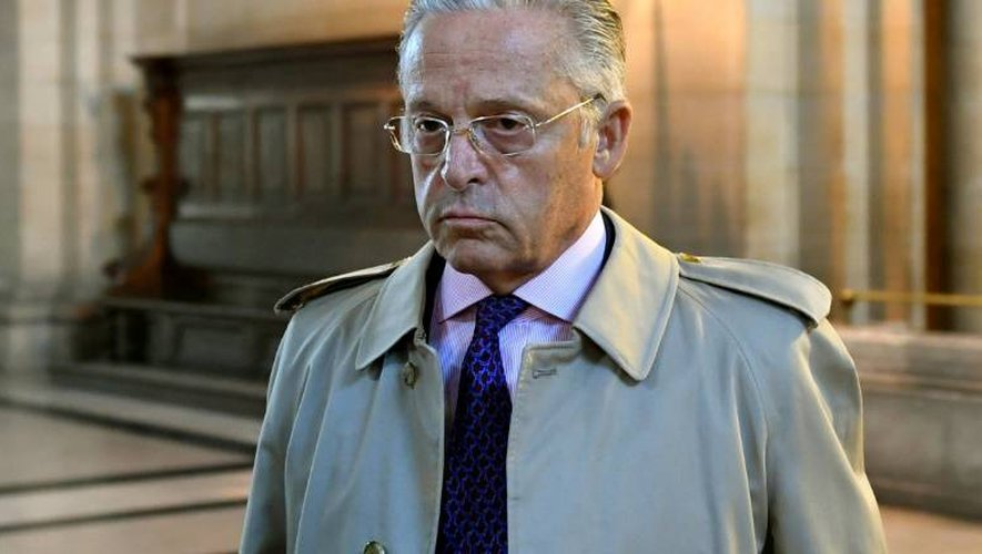 Le Franco-Américain Guy Wildenstein arrive au tribunal de Paris, le 22 septembre 2016