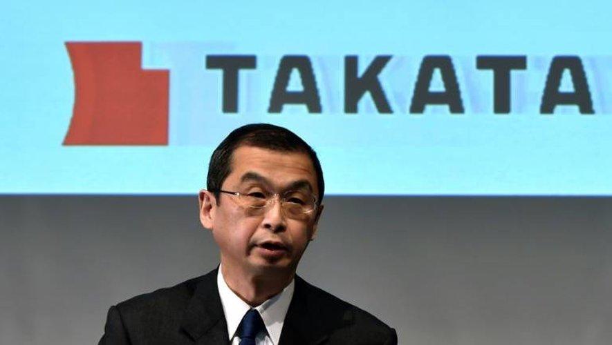 Le président de Tanaka, Shigehisa Takada, le 4 novembre 2015 à Tokyo