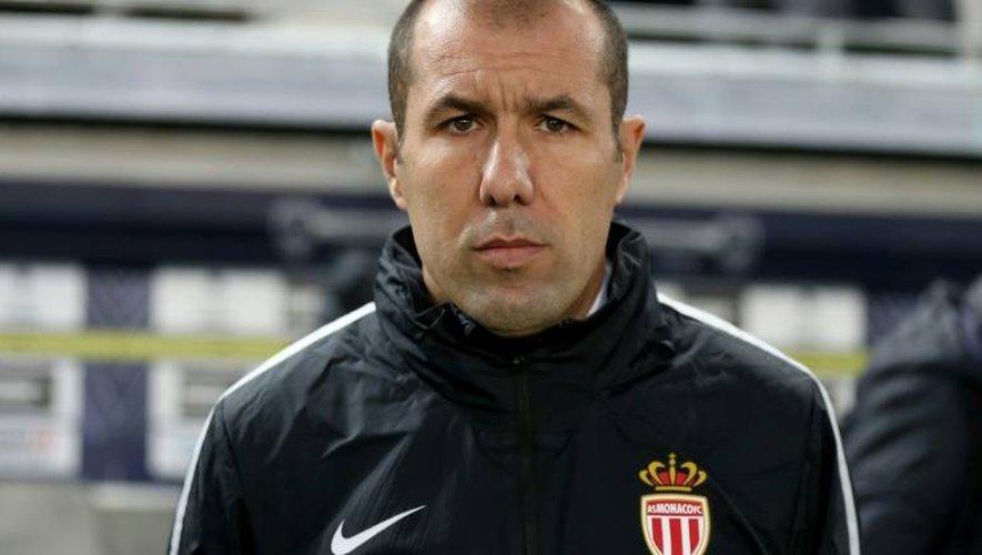 L'entraîneur de Monaco Leonardo Jardim avant le coup d'envoi du match face à Bordeaux au Matmut Atlantique, le 10 décembre 2016