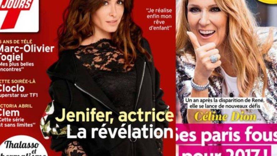 Jenifer actrice, la révélation, Céline Dion 1 an après la disparition de René…