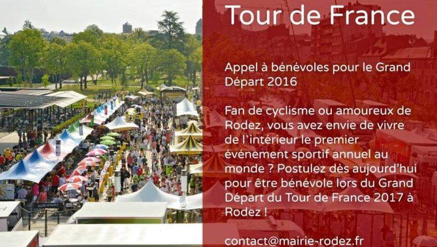 15 juillet : Rodez cherche bénévoles pour l'arrivée du Tour de France