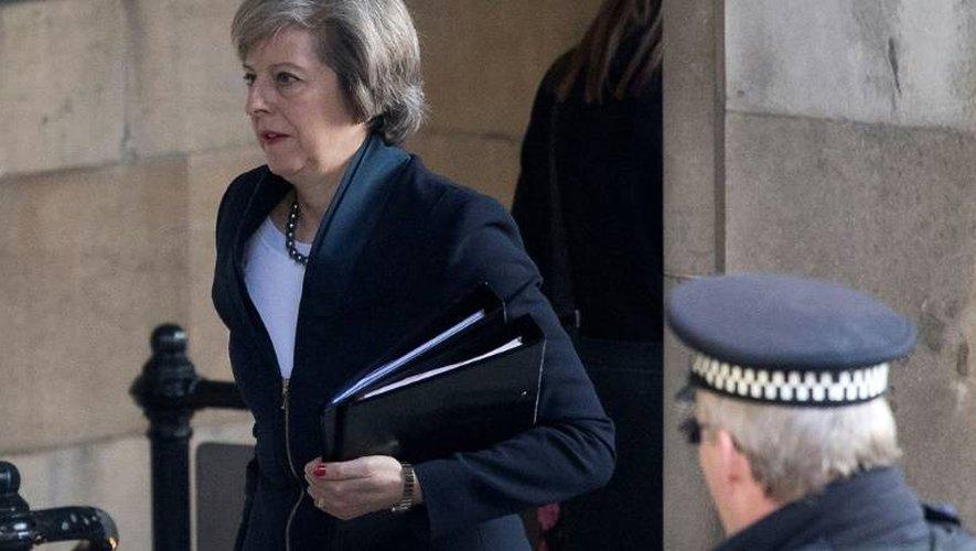 Theresa May le 20 décembre 2016 à Londres