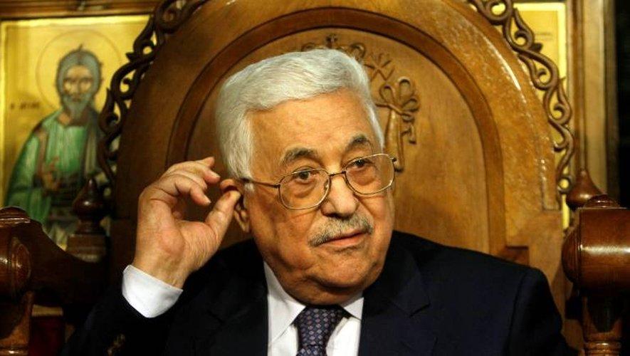 Le président de l'Autorité palestinienne, Mahmoud Abbas,sera reçu à Paris dans les prochaines semaines