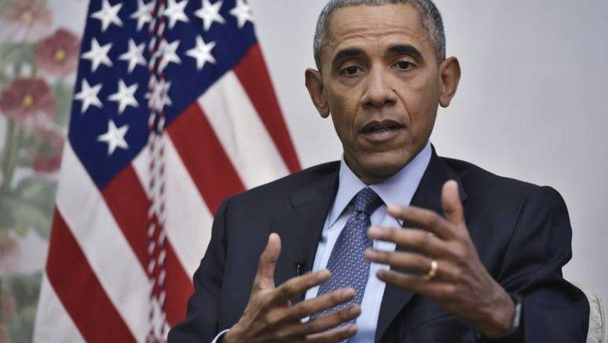 Le président américain Barack Obama, le 6 janvier 2017 à Washington