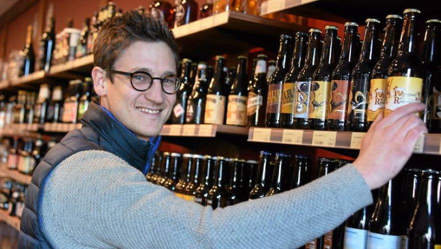Fabien Gaudin souhaite valoriser les productions des brasseries artisanales.