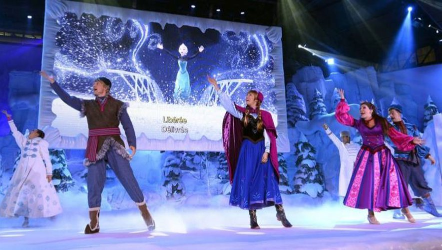 Les deux représentations de La Reine des Neiges ont fait le plein, le 20 décembre.
