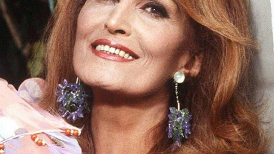 Dalida le 5 mai 1985 dans sa maison de Montmartre à Paris, où elle s'est suicidée deux ans plus tard