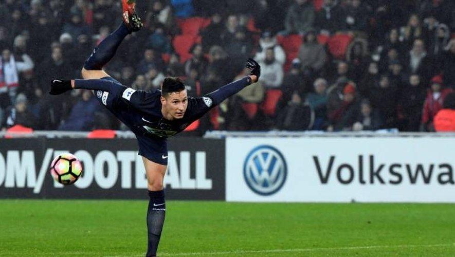 La recrue du PSG Julian Draxler face à Bastia en Coupe de France, le 7 janvier 2017 au Parc des Princes
