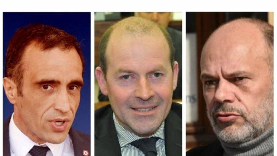 Législatives : Yves Censi, André At et Arnaud Viala officiellement investis