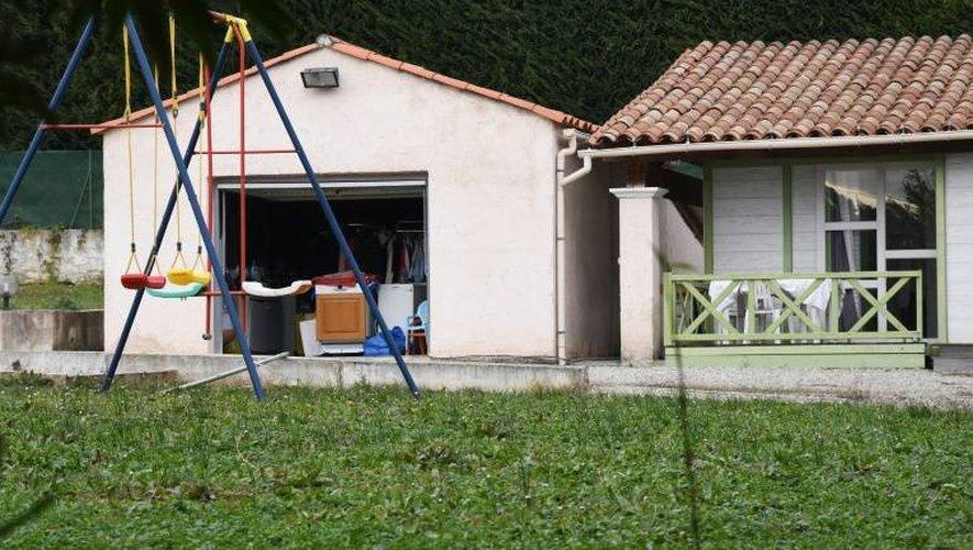 La villa près de Grasse dans laquelle a été arrêté un homme de 72 ans soupçonné d'être impliqué dans le braquage de Kim Kardashian, le 11 janvier
