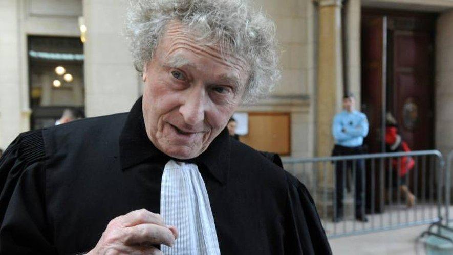 Jean-Yves Liénard le 17 février 2012 au palais de justice de Paris