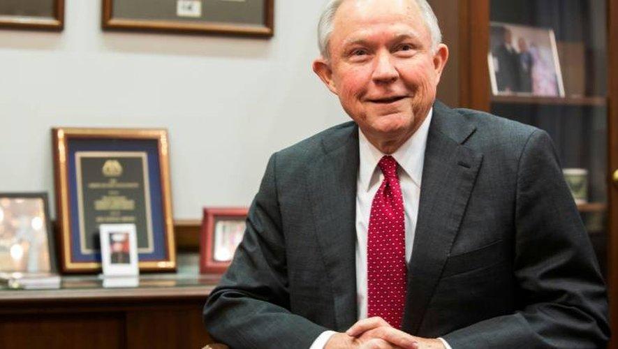 Jeff Sessions le 29 novembre 2016 à Washington