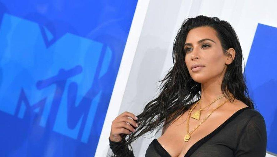 Kim Kardashian le 28 août 2016 à Madison Square Garden à New York