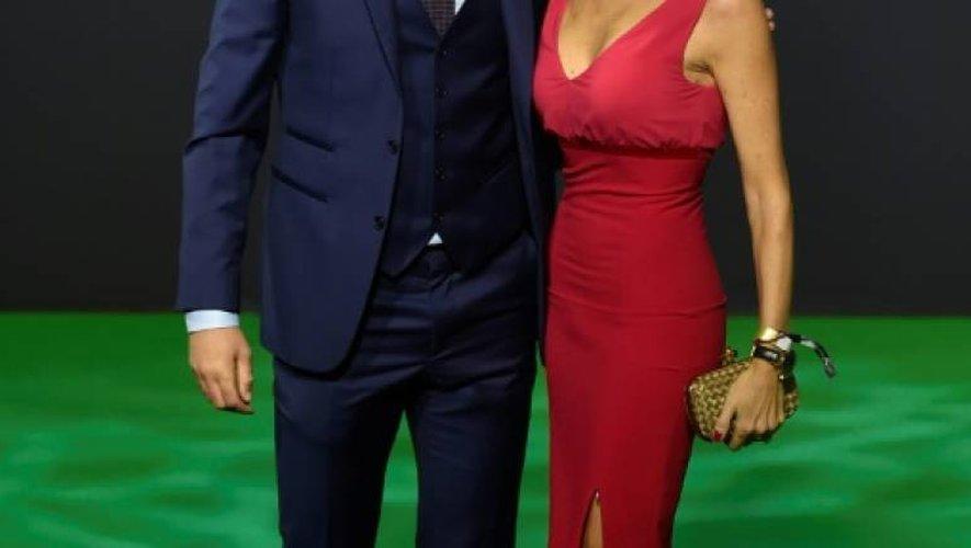 Zinédine Zidane et sa femme Véronique à leur arrivée à la cérémonie des Prix Fifa, le 9 janvier 2017 à Zurich