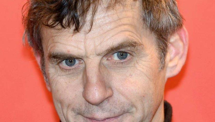 Le cinéaste belge Lucas Belvaux, le 7 février 2015 à Paris