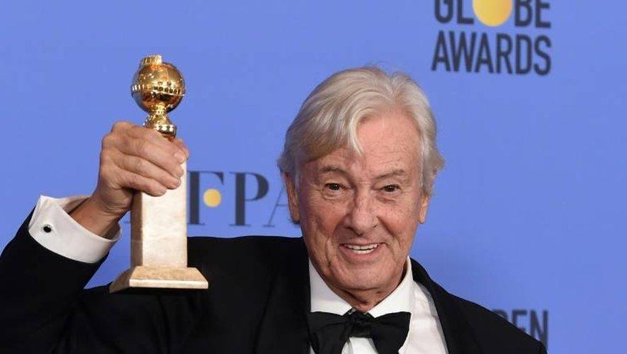Paul Verhoeven, Golden Globe du meilleur film étranger pour Elle, le 8 janvier 2017 à Beverly Hills en Californie