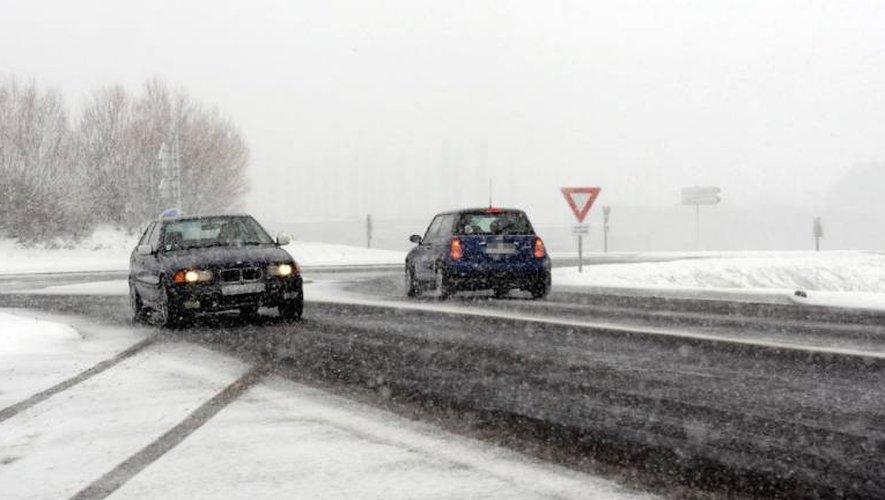 La neige est attendue mardi sur une grande partie de l'Aveyron