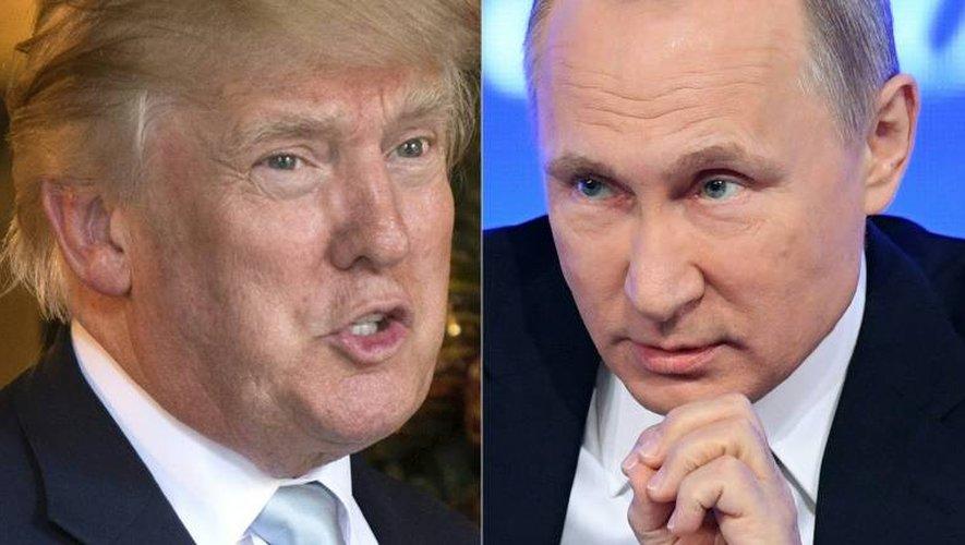 """""""Le président russe Vladimir Poutine a ordonné une campagne d'influence"""" visant à favoriser l'élection de Donald Trump et à discréditer la campagne électorale d'Hillary Clinton, selon le renseignement américain"""