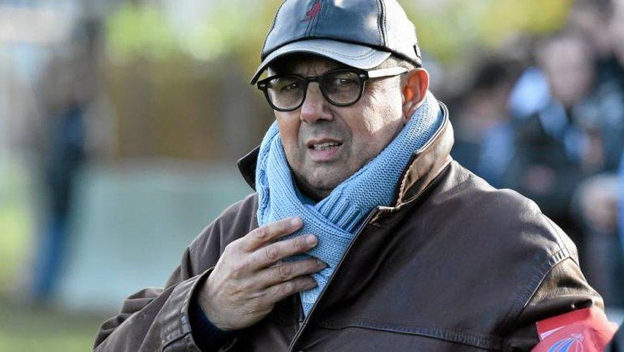 Aujourd'hui entraîneur de Cahors, Christian Gajan a présidé à la destiné du club ruthénois de 1993 à 1996.