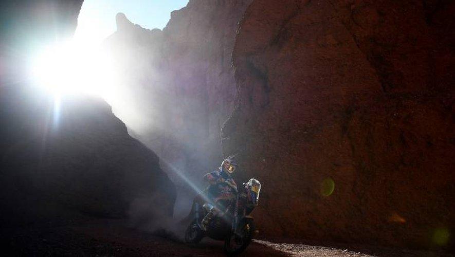 Le motard australien Toby Price (KTM) lors de la 3e étape du Dakar entre San Miguel de Tucuman et San Salvador de Jujuy, le 4 janvier 2017