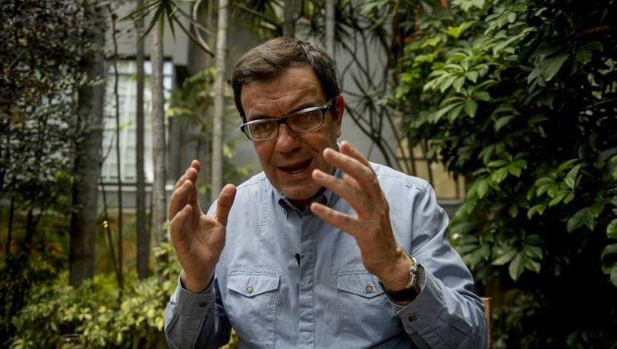Laureano Marquez lors d'un entretien avec l'AFP, le 14 décembre 2016 à Caracas