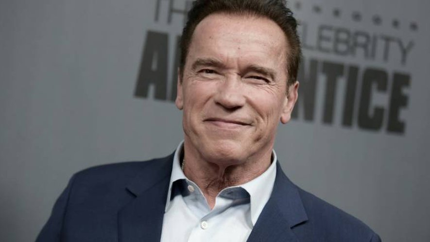 L'acteur et ancien gouverneur de Californie, Arnold Schwarzenegger à Universal City, en Californie, le 10 décembre 2016