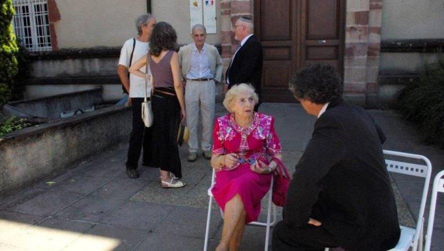 Odette Herzog-Rosenfeld est décédée à l'âge de 99 ans.