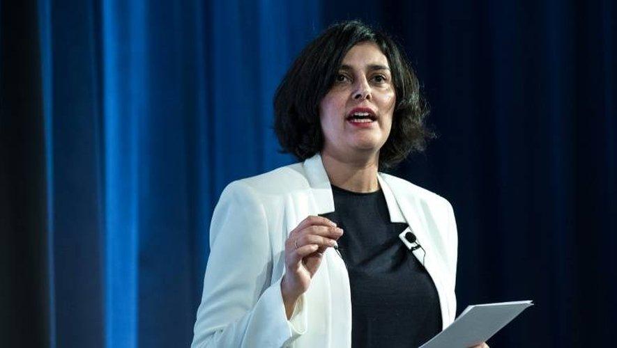 La ministre du Travail Myriam El Khomri, le 12 janvier à Paris