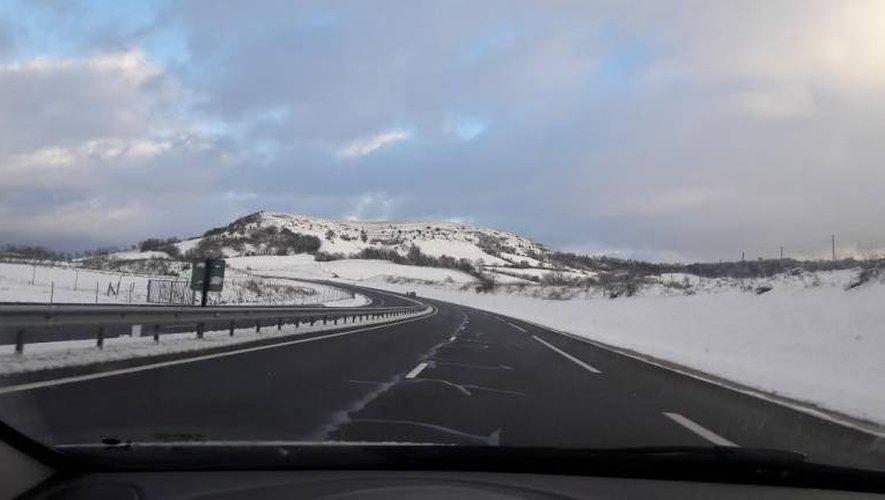 Grand froid : soyez vigilants sur les routes de l'Aveyron