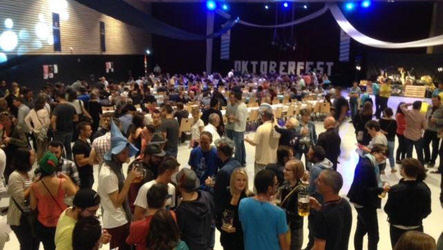 Rodez : l'Oktoberfest fait son retour à la salle des fêtes