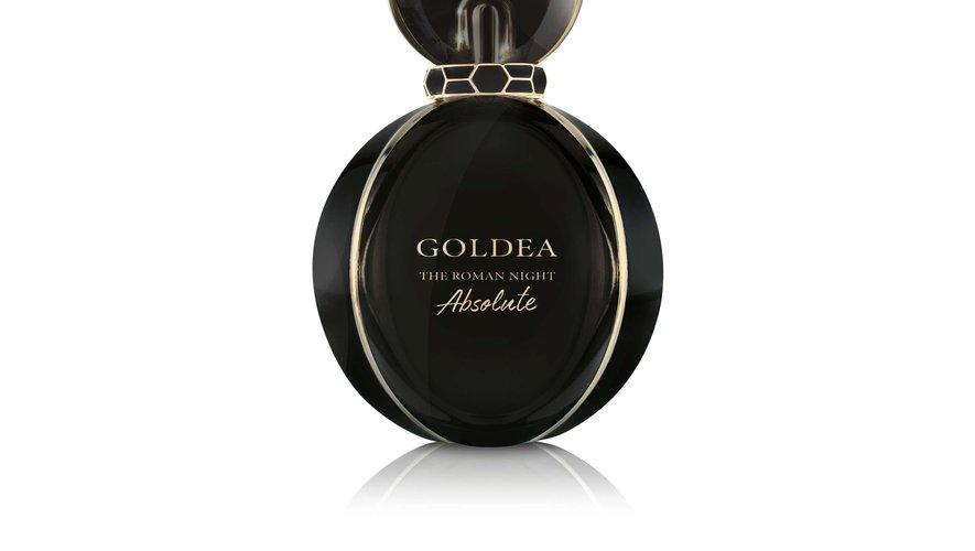 """Le parfum """"Goldea The Roman Night Absolute"""" de Bulgari."""