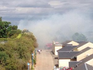 Le feu s'est déclenché dans une zone résidentielle d'Onet-le-Château.