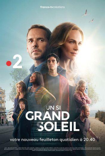 """France 2 a enregistré le mois dernier une part d'audience moyenne de 13,2%, en hausse de un point. La chaîne profite notamment du bon démarrage de sa série quotidienne """"Un si grand soleil"""""""