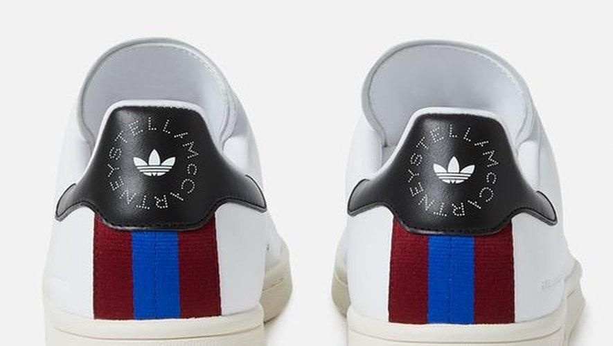 Cette paire de Stan Smith vegan est proposée sur l'e-shop de Stella McCartney au prix de 250€.