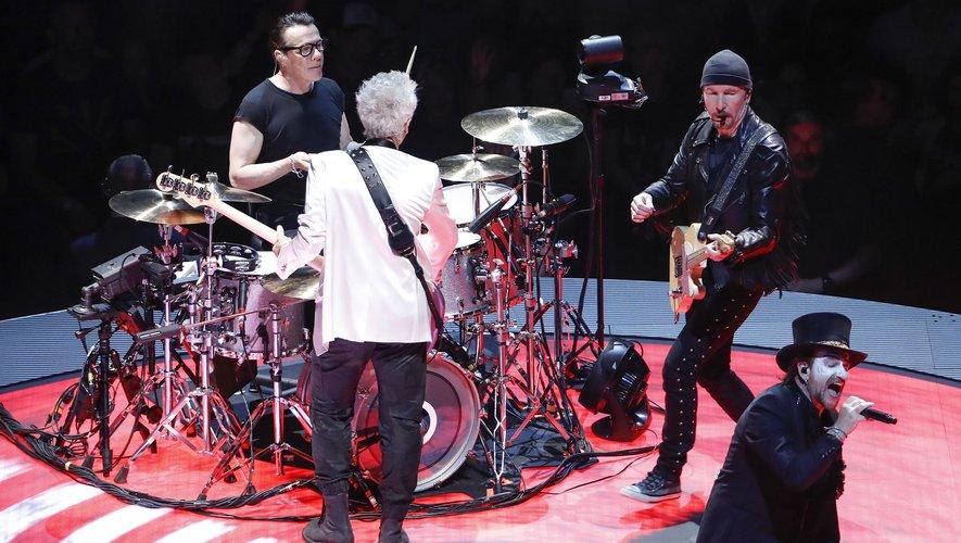 U2 sera en concert les 8, 9, 12 et 13 septembre à l'AccorHotels Arena à Paris
