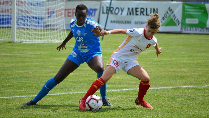 Laurie Cance et les Ruthénoises retrouvent leur pelouse du stade Paul-Lignon cet après-midi, quinze jours après avoir chuté à Soyaux (3-1) en ouverture du championnat.