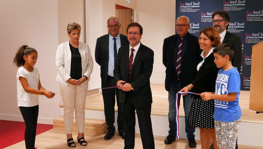 La nouvelle structure inaugurée par le maire d'Onet-le-Château/
