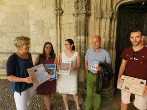 Le jeu-enquête sur la Chartreuse est le fruit d'un travail partenarial entre l'Office de tourisme et l'association des Bastides du Rouergue.
